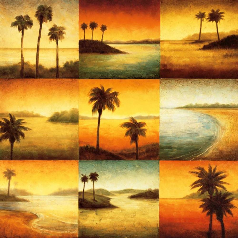 konfigurieren des Kunstdrucks in Wunschgröße Palm Perspectives von Williams, Gregory