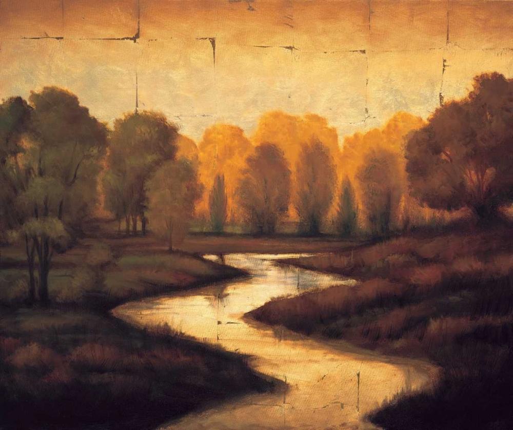 konfigurieren des Kunstdrucks in Wunschgröße The Waters Edge I von Williams, Gregory
