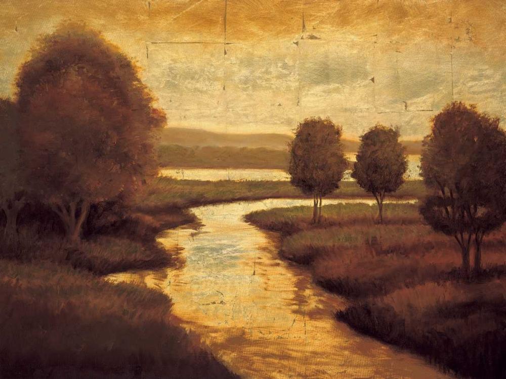 konfigurieren des Kunstdrucks in Wunschgröße The Waters Edge II von Williams, Gregory