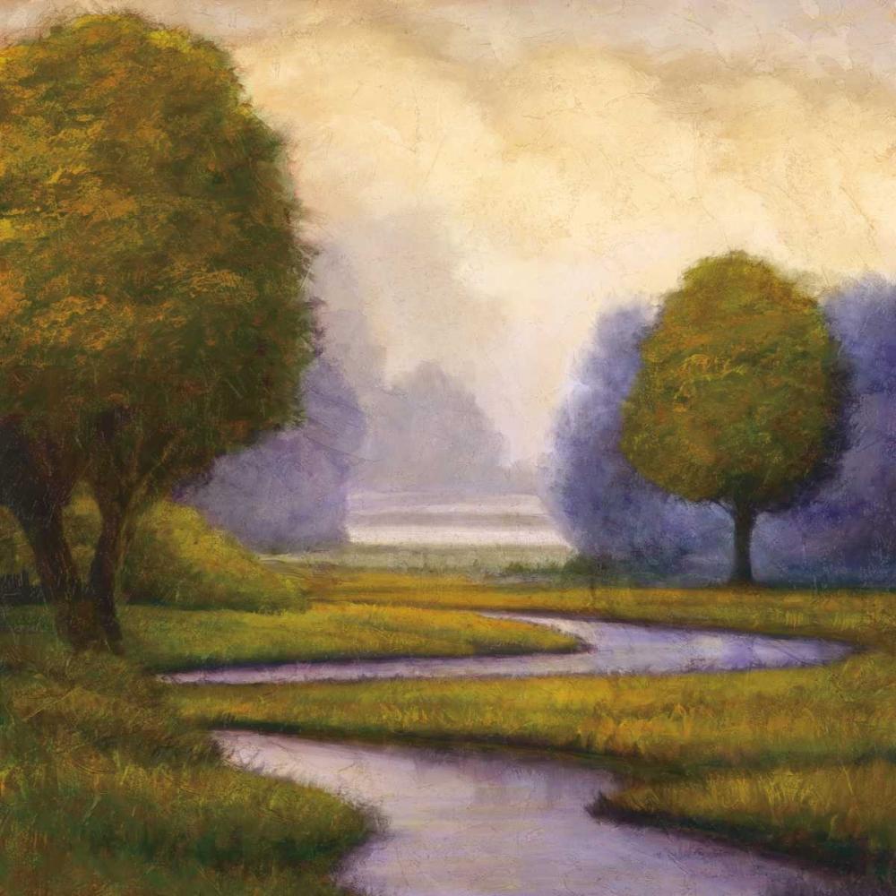 konfigurieren des Kunstdrucks in Wunschgröße Lavender Sunrise I von Williams, Gregory