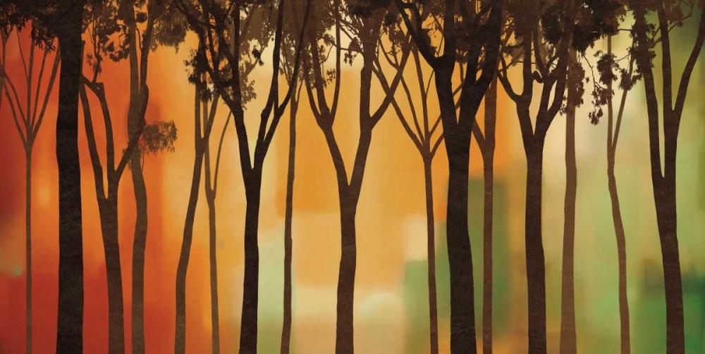 konfigurieren des Kunstdrucks in Wunschgröße Twilight Silhouette von Williams, Gregory