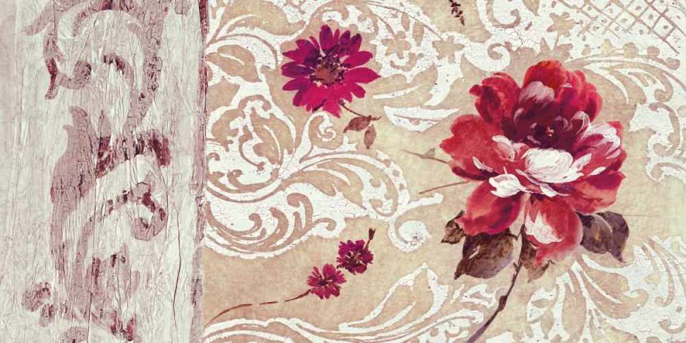 konfigurieren des Kunstdrucks in Wunschgröße Fleurs Neoclassique I von Simon, Helene