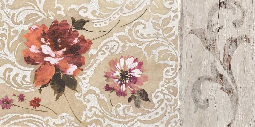 konfigurieren des Kunstdrucks in Wunschgröße Fleurs Neoclassique II von Simon, Helene