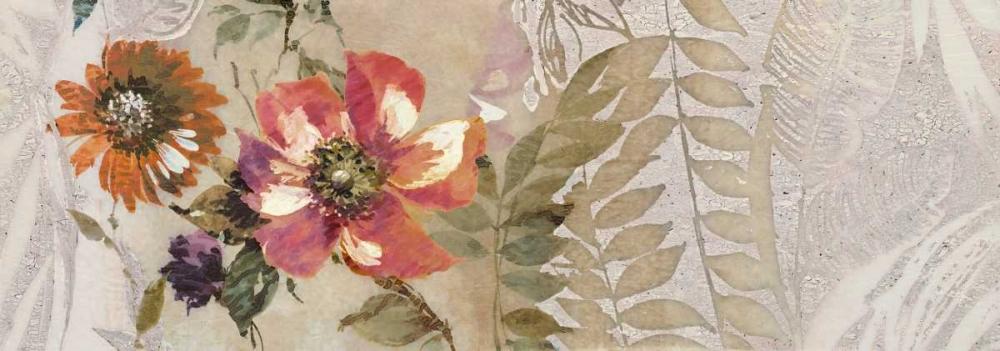 konfigurieren des Kunstdrucks in Wunschgröße Florilege II von Simon, Helene