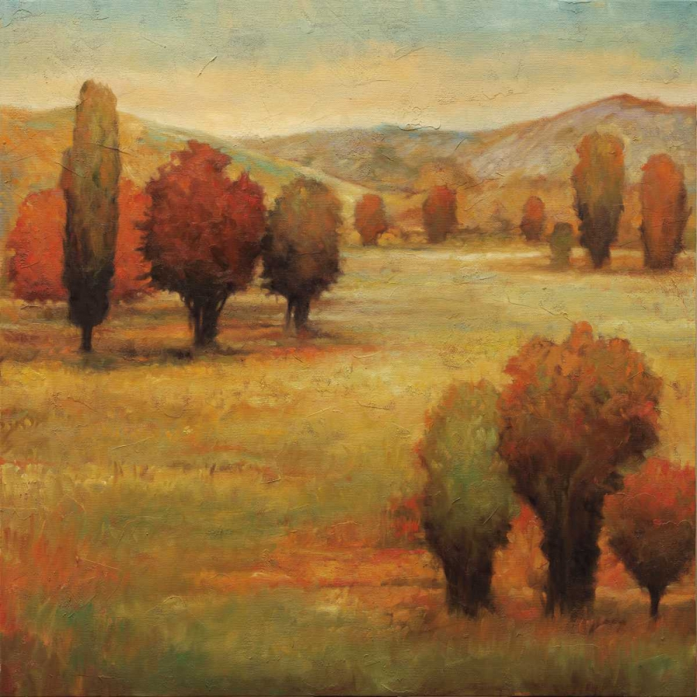 konfigurieren des Kunstdrucks in Wunschgröße Hillside Meadow I von Leonard, Jeffrey