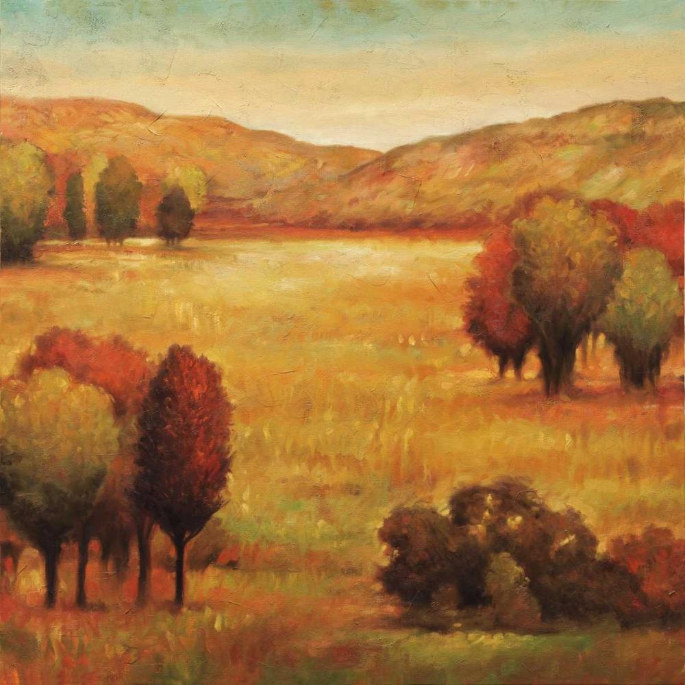 konfigurieren des Kunstdrucks in Wunschgröße Hillside Meadow II von Leonard, Jeffrey