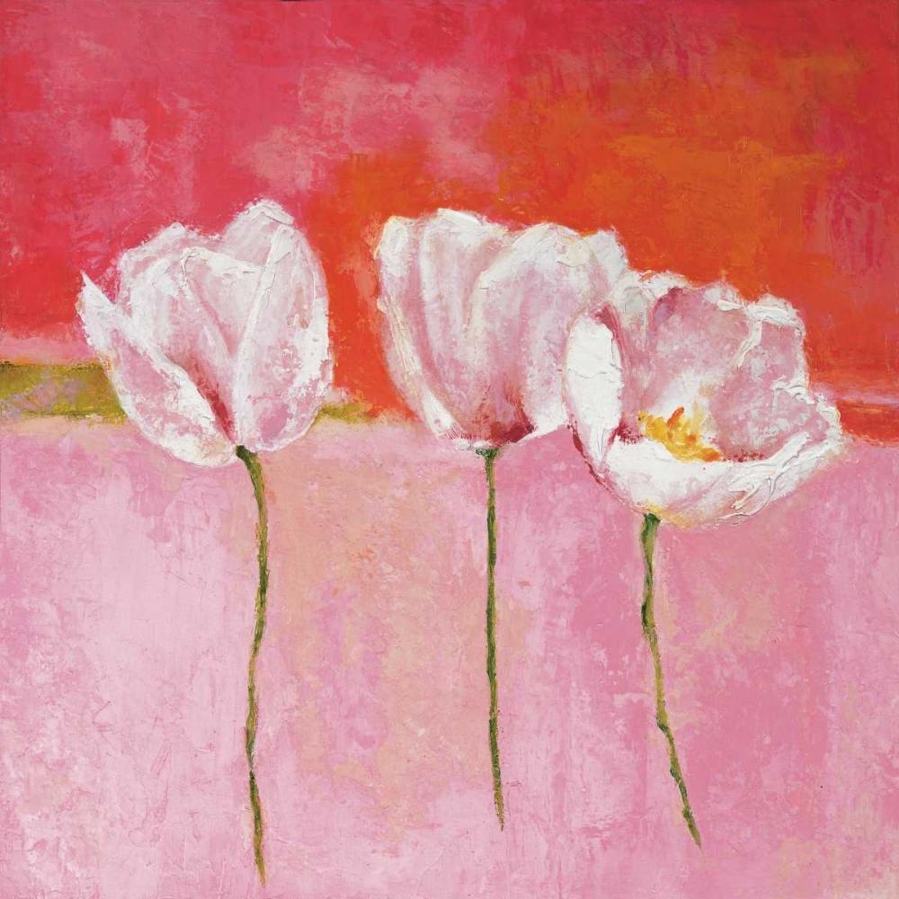 konfigurieren des Kunstdrucks in Wunschgröße Fleurs en rose II von Herbert, Isabelle