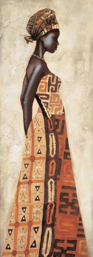 konfigurieren des Kunstdrucks in Wunschgröße Femme Africaine I von Leconte, Jacques