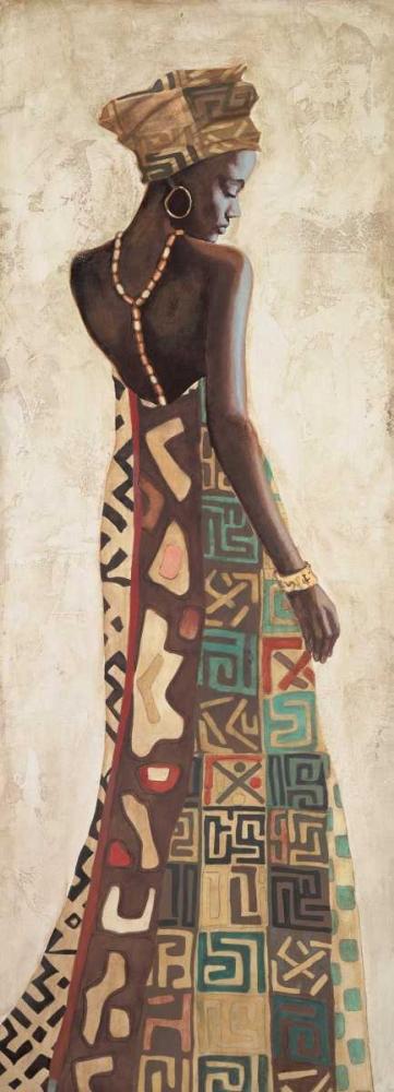 konfigurieren des Kunstdrucks in Wunschgröße Femme Africaine III von Leconte, Jacques