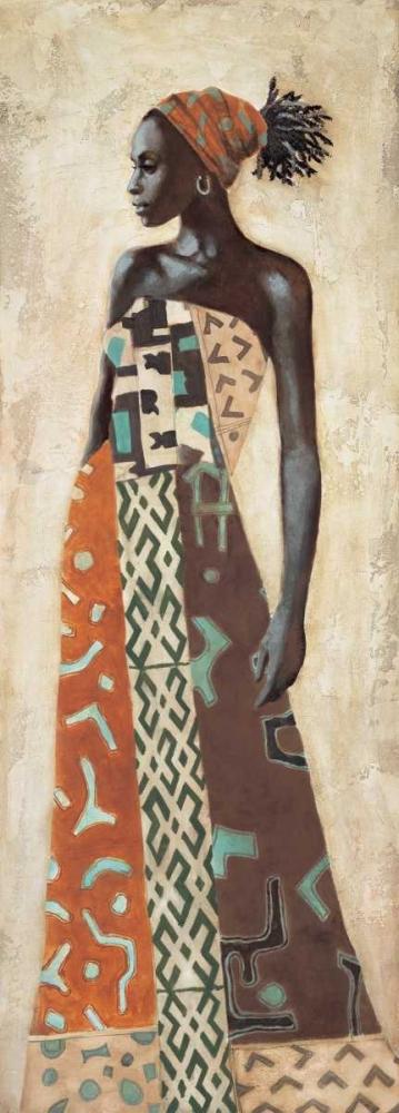 konfigurieren des Kunstdrucks in Wunschgröße Femme Africaine IV von Leconte, Jacques