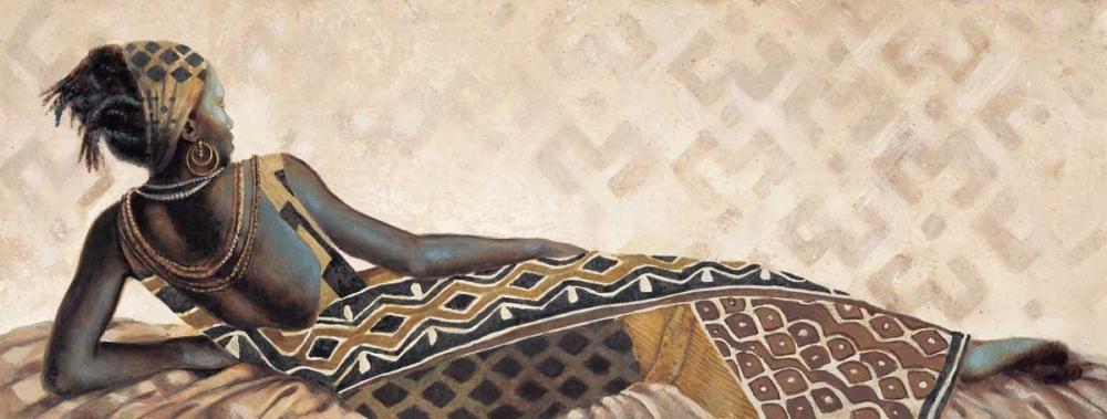 konfigurieren des Kunstdrucks in Wunschgröße Femme Africaine V von Leconte, Jacques