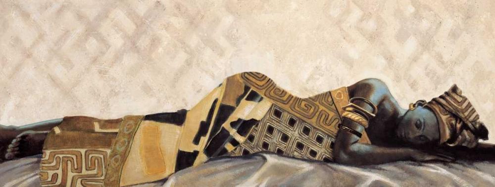 konfigurieren des Kunstdrucks in Wunschgröße Femme Africaine VI von Leconte, Jacques