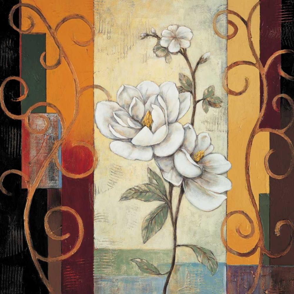 konfigurieren des Kunstdrucks in Wunschgröße Magnolia von Deveraux, Jill