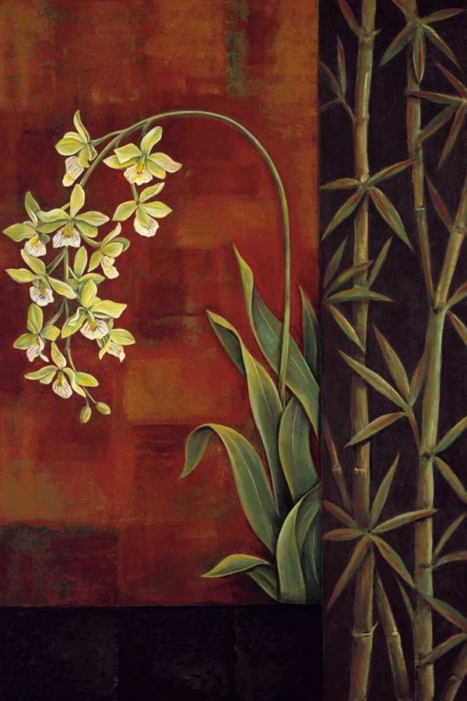 konfigurieren des Kunstdrucks in Wunschgröße Green Orchid von Deveraux, Jill