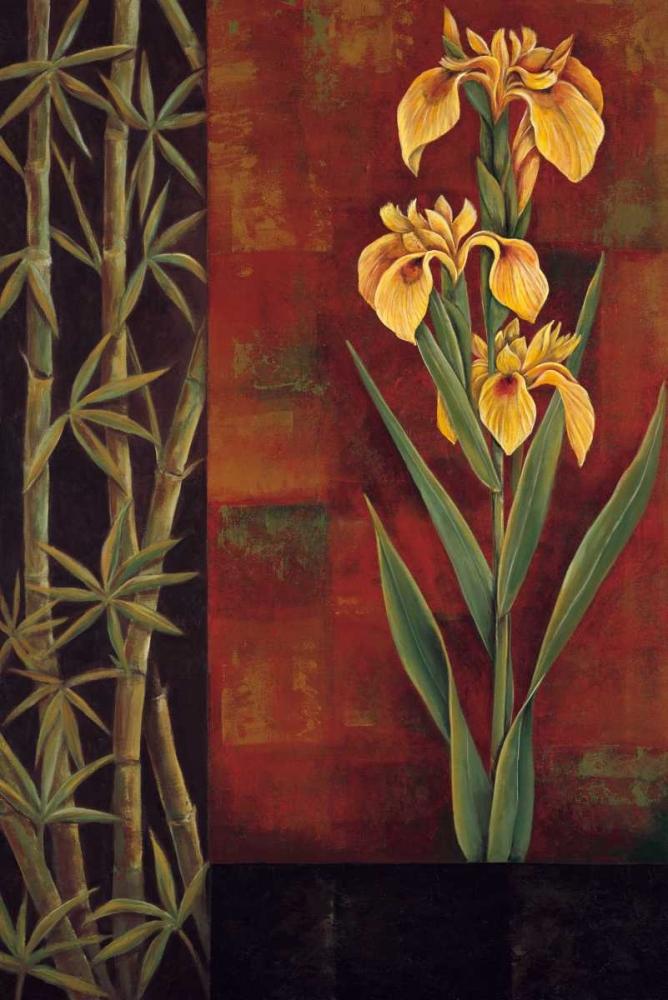 konfigurieren des Kunstdrucks in Wunschgröße Yellow Iris von Deveraux, Jill