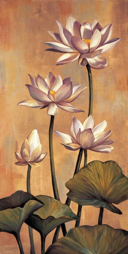 konfigurieren des Kunstdrucks in Wunschgröße White Lotus von Deveraux, Jill