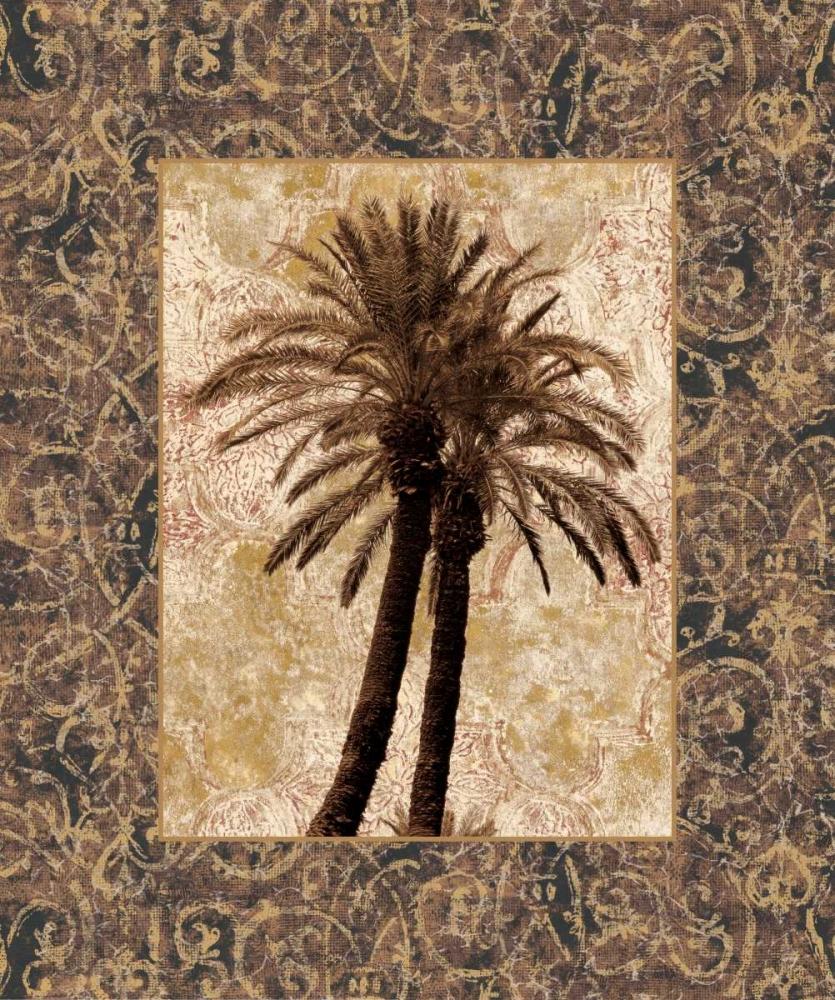 konfigurieren des Kunstdrucks in Wunschgröße Palm Collage I von Seba, John