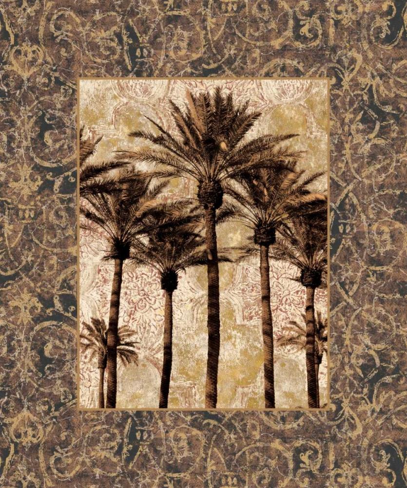 konfigurieren des Kunstdrucks in Wunschgröße Palm Collage II von Seba, John