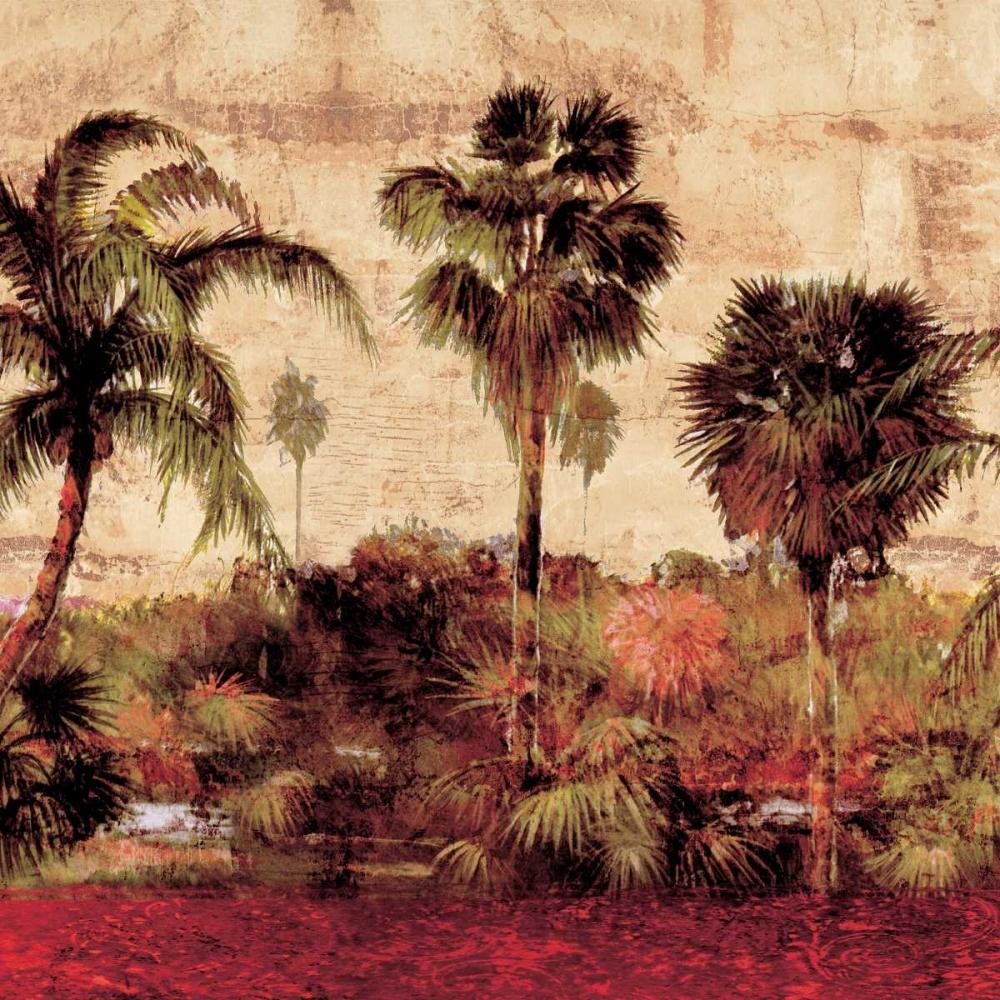 konfigurieren des Kunstdrucks in Wunschgröße Palmas II von Seba, John