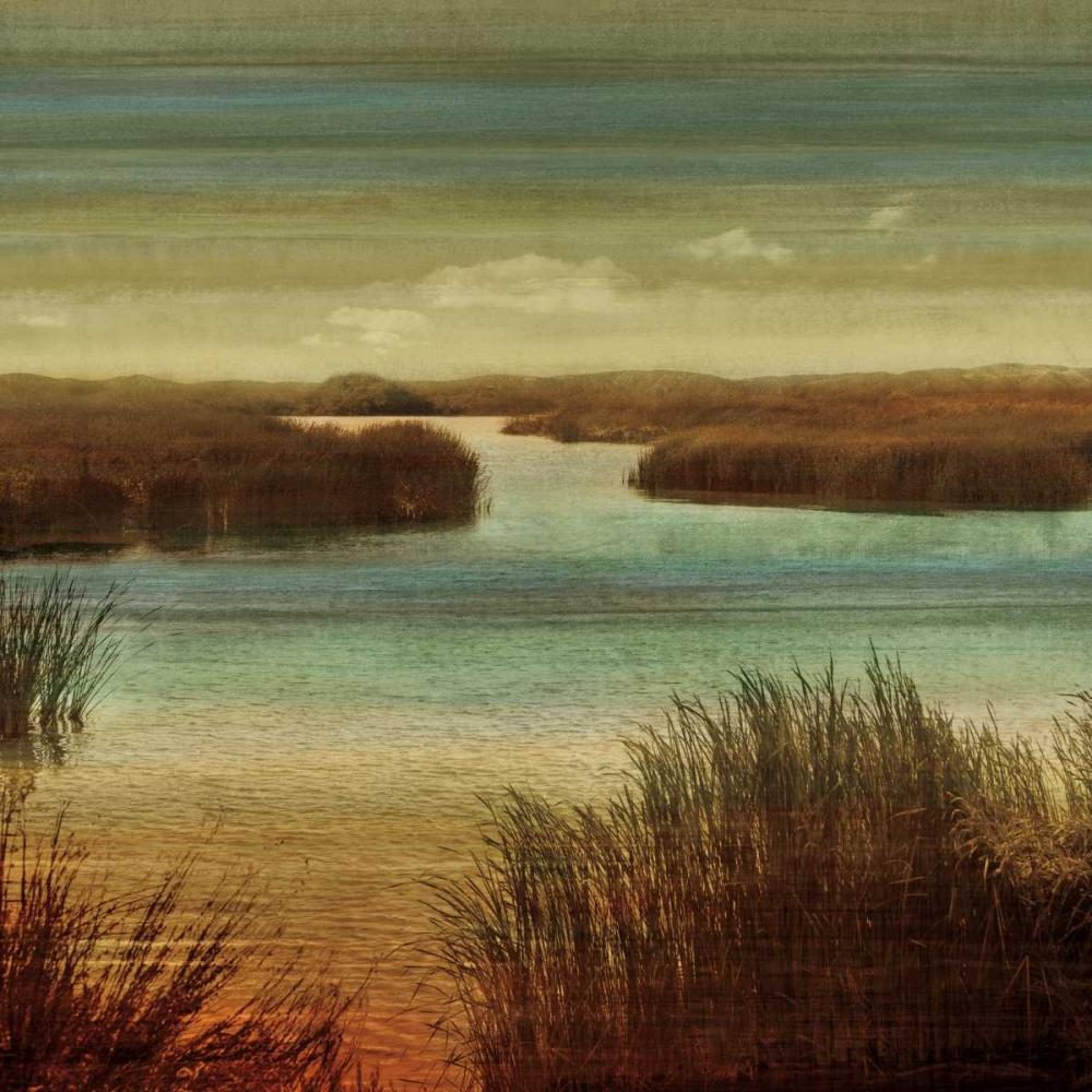 konfigurieren des Kunstdrucks in Wunschgröße On The Water I von Seba, John