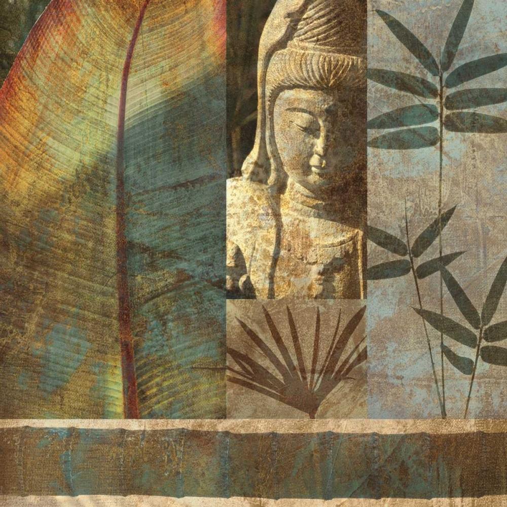konfigurieren des Kunstdrucks in Wunschgröße Palm Garden I von Seba, John