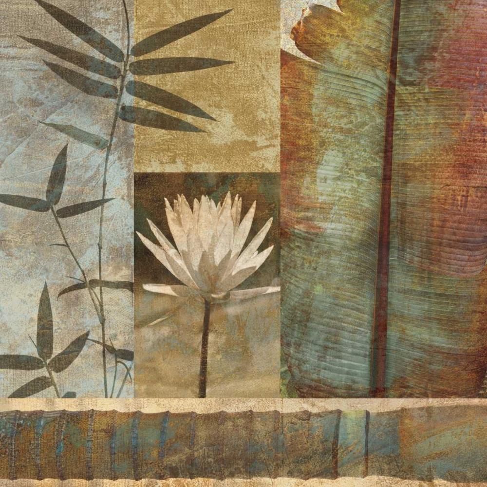 konfigurieren des Kunstdrucks in Wunschgröße Palm Garden II von Seba, John