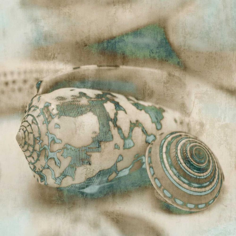konfigurieren des Kunstdrucks in Wunschgröße Coastal Gems I von Seba, John