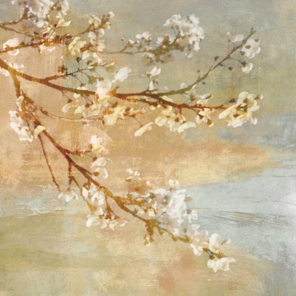 konfigurieren des Kunstdrucks in Wunschgröße Blossoms OnThe Pond I von Seba, John