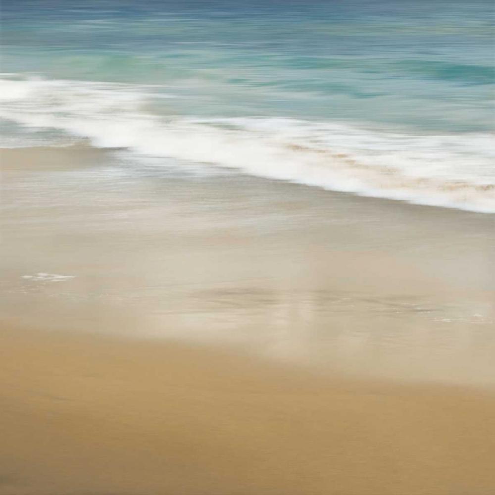 konfigurieren des Kunstdrucks in Wunschgröße Surf and Sand I von Seba, John