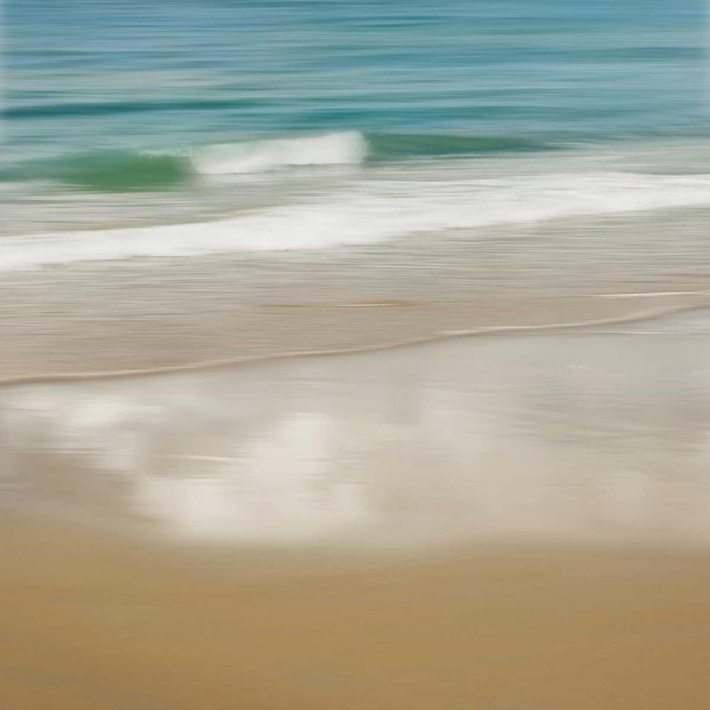 konfigurieren des Kunstdrucks in Wunschgröße Surf and Sand II von Seba, John