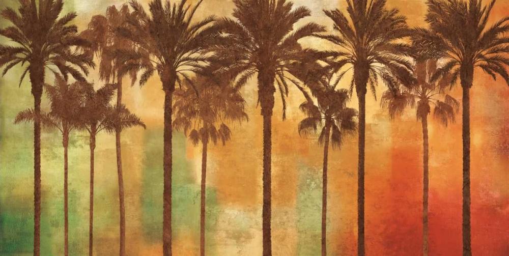 konfigurieren des Kunstdrucks in Wunschgröße Palm Paradise von Seba, John