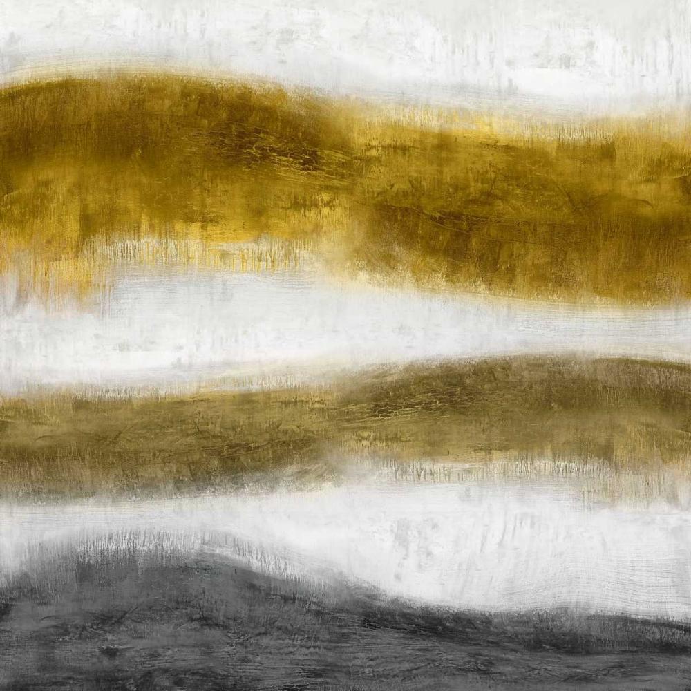 konfigurieren des Kunstdrucks in Wunschgröße Emerge Golden von Blake, Jaden