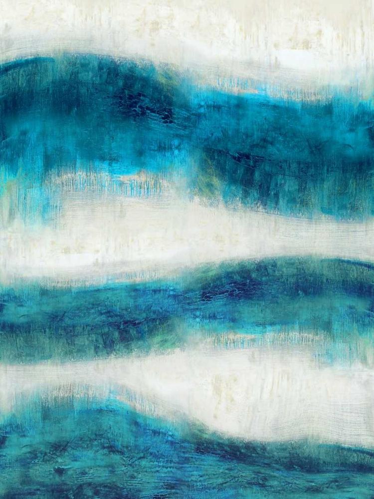 konfigurieren des Kunstdrucks in Wunschgröße Emerge in Aqua von Blake, Jaden