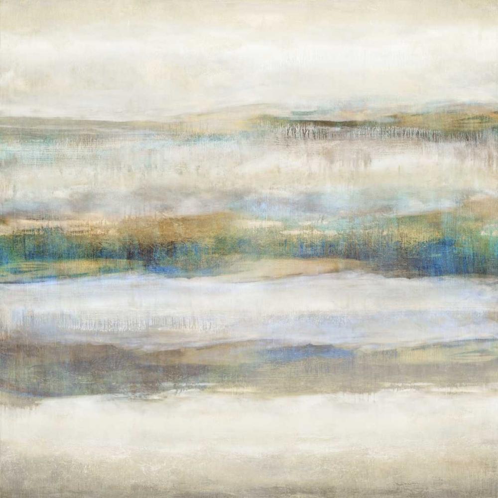 konfigurieren des Kunstdrucks in Wunschgröße Linear Motion Aqua von Blake, Jaden