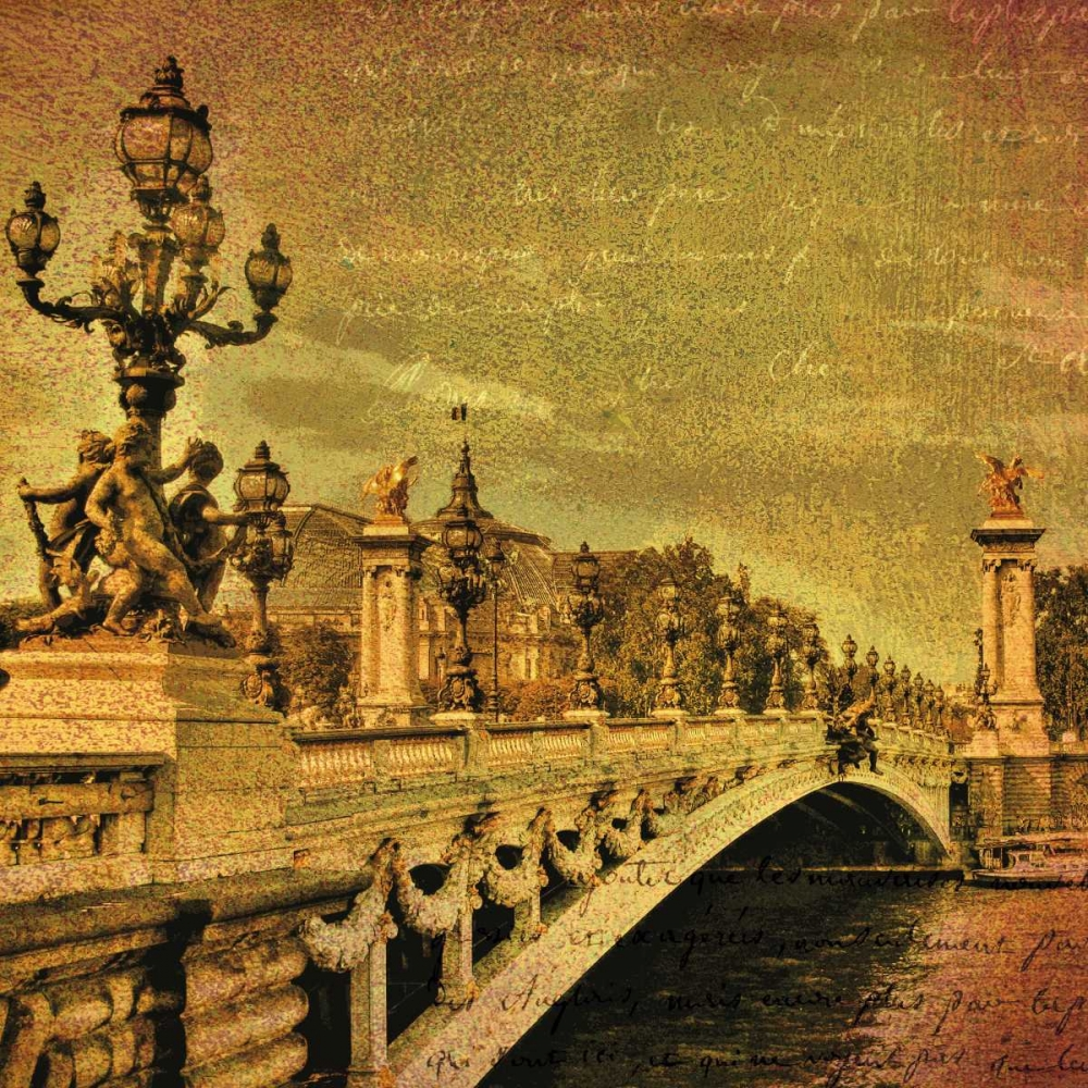 konfigurieren des Kunstdrucks in Wunschgröße Paris Romance von Casey, Julia