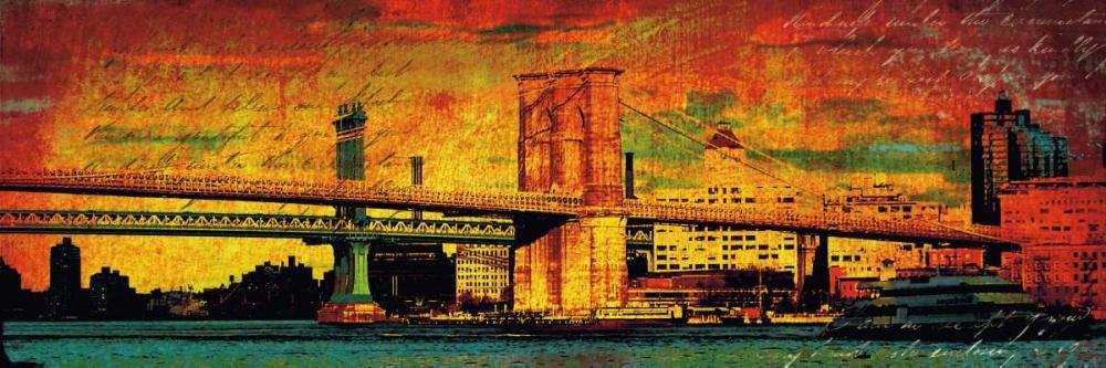 konfigurieren des Kunstdrucks in Wunschgröße New York Memories von Casey, Julia