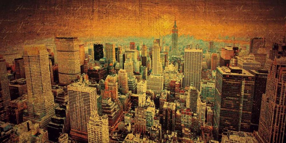 konfigurieren des Kunstdrucks in Wunschgröße Remembering New York von Casey, Julia