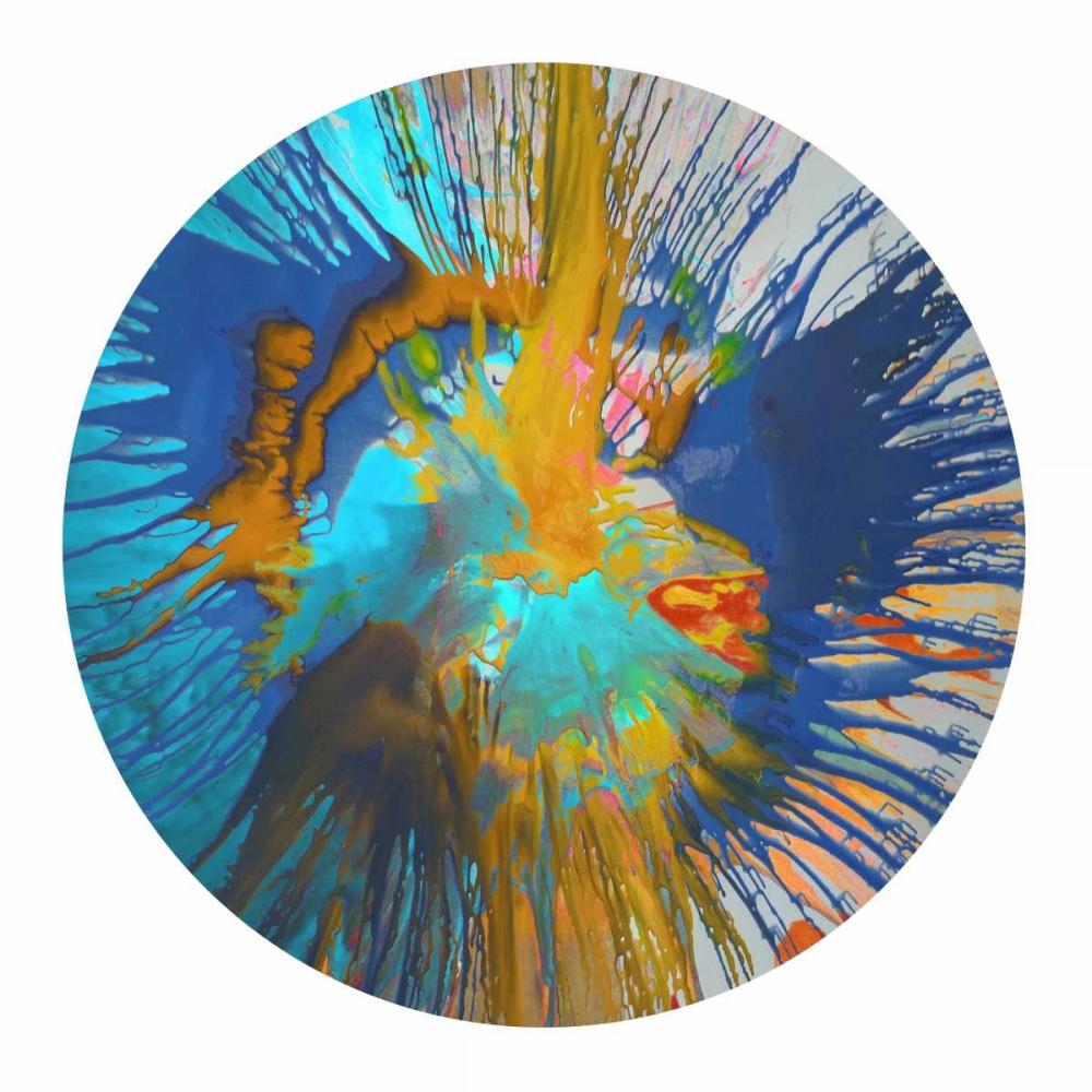 konfigurieren des Kunstdrucks in Wunschgröße Circular Motion II von Evans, Josh