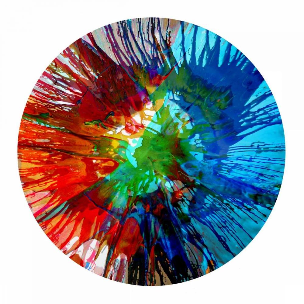 konfigurieren des Kunstdrucks in Wunschgröße Circular Motion III von Evans, Josh