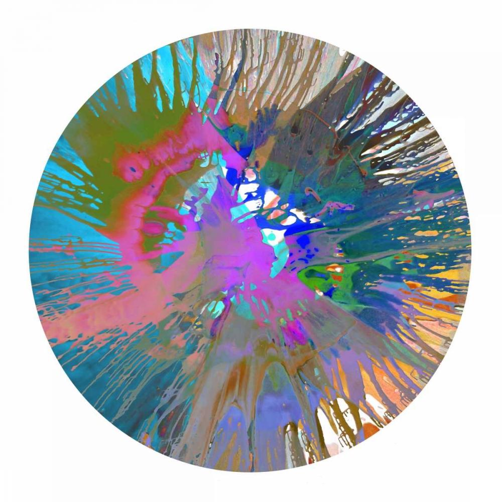konfigurieren des Kunstdrucks in Wunschgröße Circular Motion V von Evans, Josh