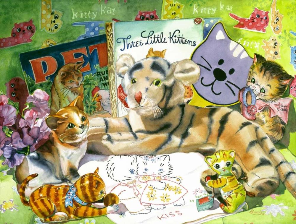konfigurieren des Kunstdrucks in Wunschgröße Cat Sonnet von Koenig, Judy