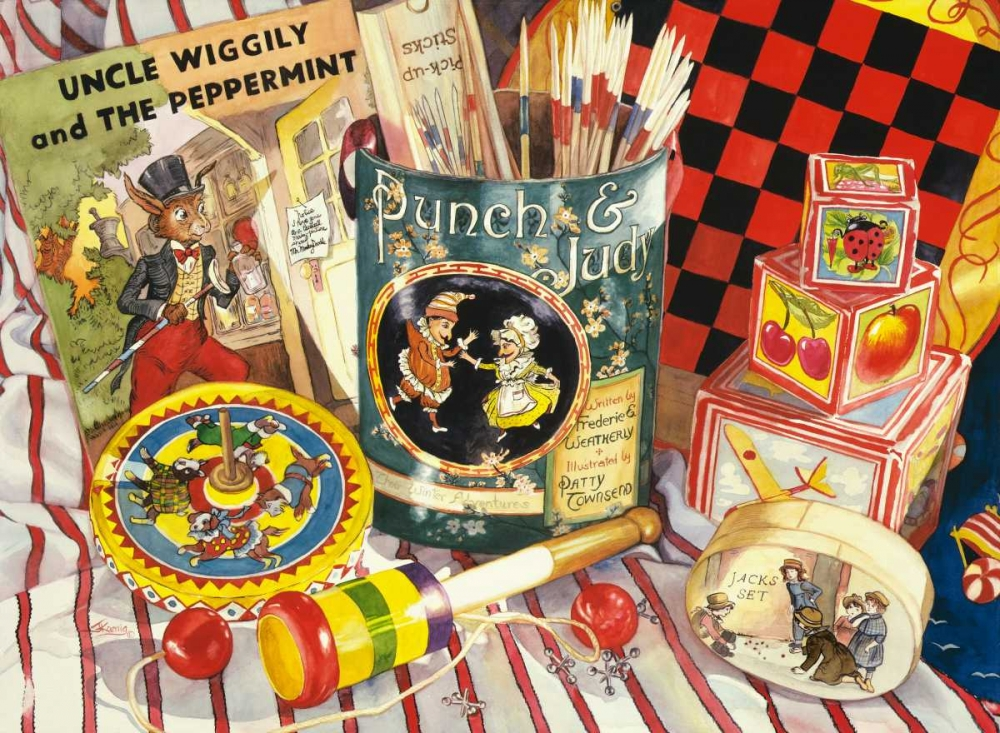 konfigurieren des Kunstdrucks in Wunschgröße Uncle Wiggly von Koenig, Judy