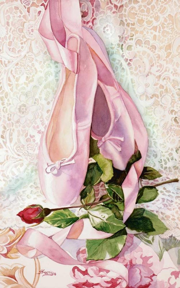 konfigurieren des Kunstdrucks in Wunschgröße Ballet Rose von Koenig, Judy