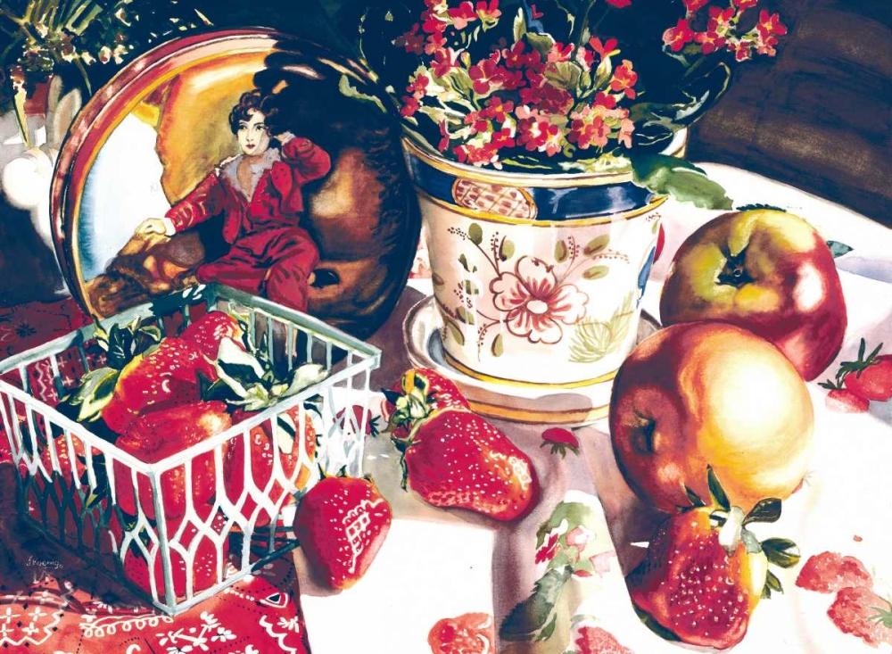 konfigurieren des Kunstdrucks in Wunschgröße Dolce Rosa von Koenig, Judy