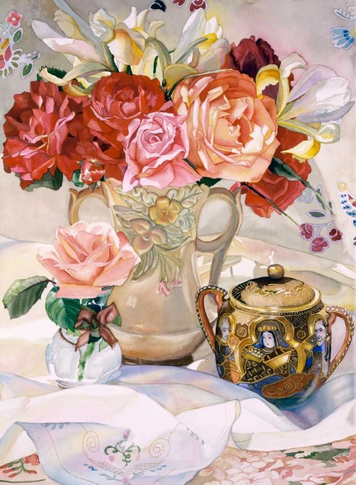 konfigurieren des Kunstdrucks in Wunschgröße Rose Dynasty von Koenig, Judy