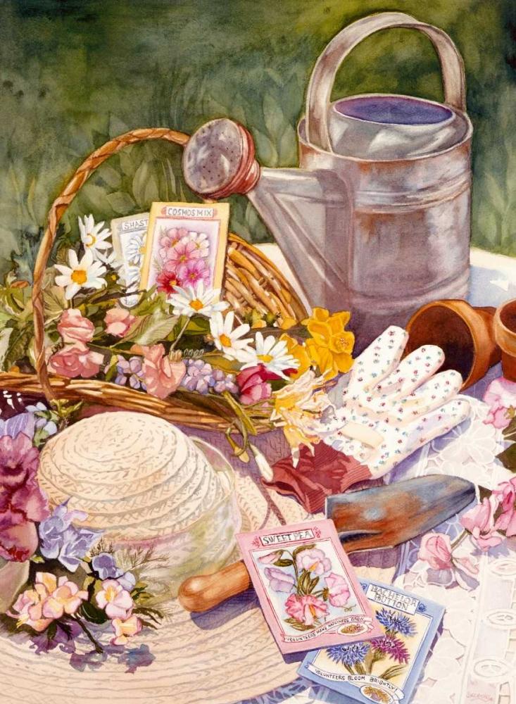 konfigurieren des Kunstdrucks in Wunschgröße Spring Garden von Koenig, Judy