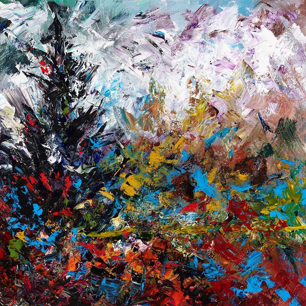 konfigurieren des Kunstdrucks in Wunschgröße Colorful Winter von Foster, Joseph Marshal