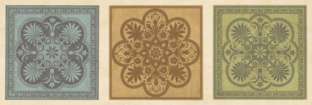 konfigurieren des Kunstdrucks in Wunschgröße Classical Tiles I von Oliver, Jenny