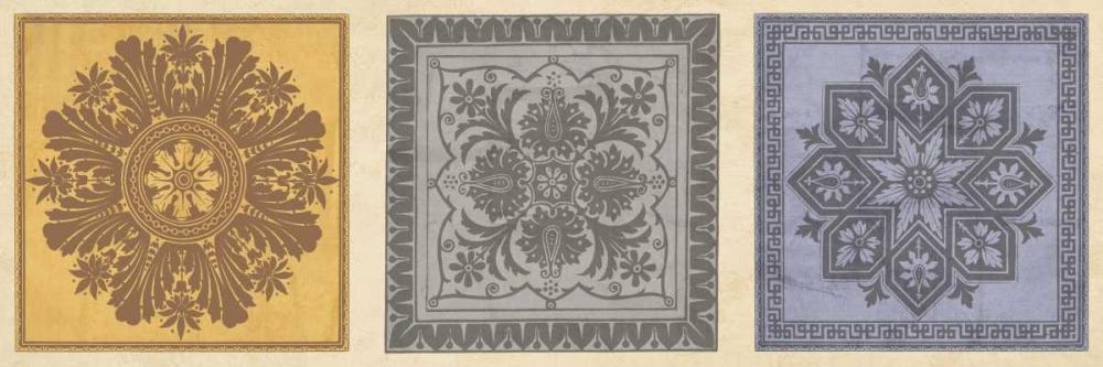 konfigurieren des Kunstdrucks in Wunschgröße Classical Tiles II von Oliver, Jenny