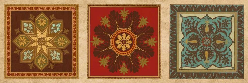 konfigurieren des Kunstdrucks in Wunschgröße Classical Tiles III von Oliver, Jenny